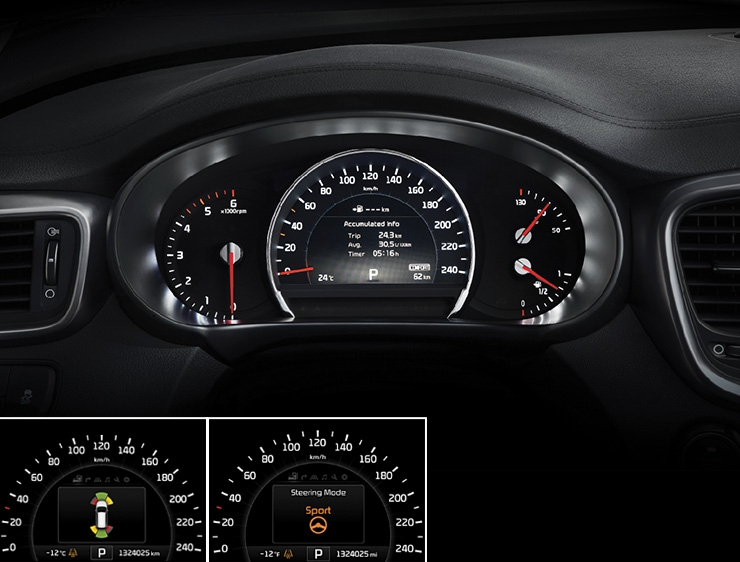 """7"""" TFT-LCD supervision cluster"""